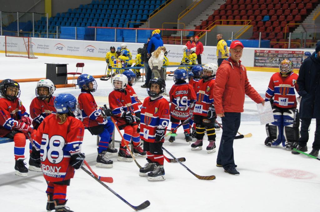 Galeria z Turnieju Minihokeja rocznika 2008/2009 w Opolu.
